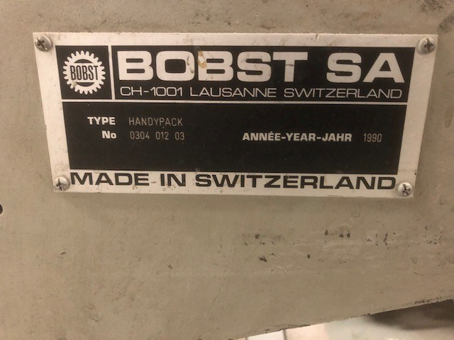 Bobst Handy Pack