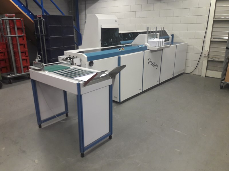 Böwe Systec Quatro Inserting Machine