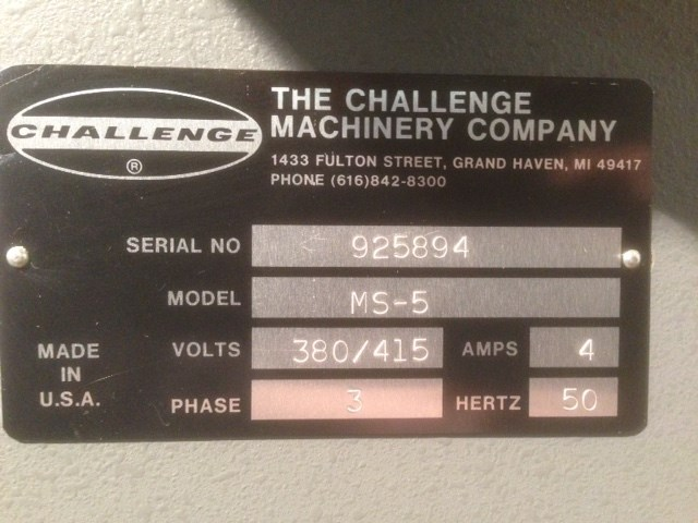 Challenge 4-head paper drill