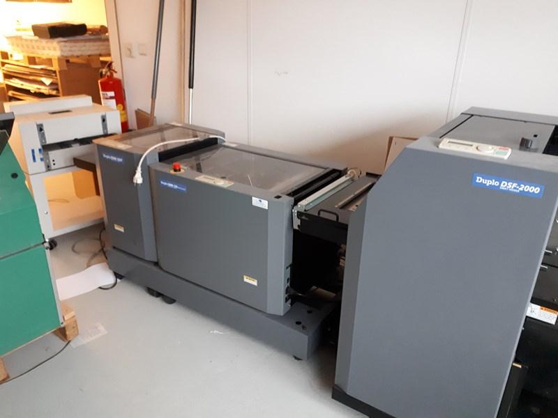 DUPLO DSF 2000 / DBM 120 / DBM 120 T