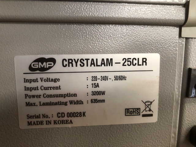 GMP CRYSTALAM 25 CLR