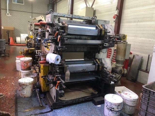 Honsel 326 Flat Satchel Bag Making Machine with Honco 635 Flexo Print