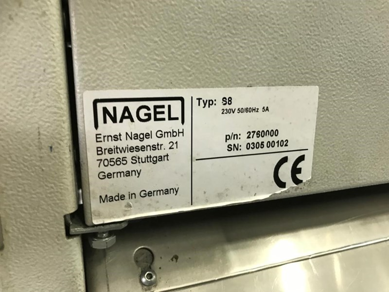 Nagel S8 Collator with Trimmer