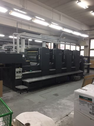 Heidelberg Speedmaster CD 102-4