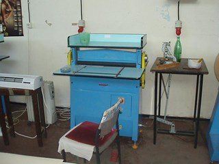 MAGRAF semiautomatic binding machine AS-55