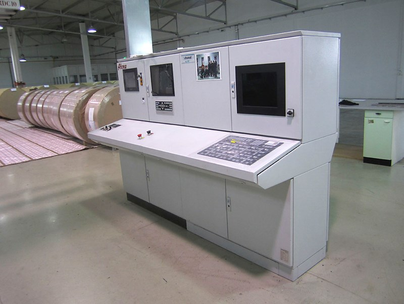 ATENA ROTOGRAVURE MACHINE WITH RDC10 ROTARY DIE CUTTER