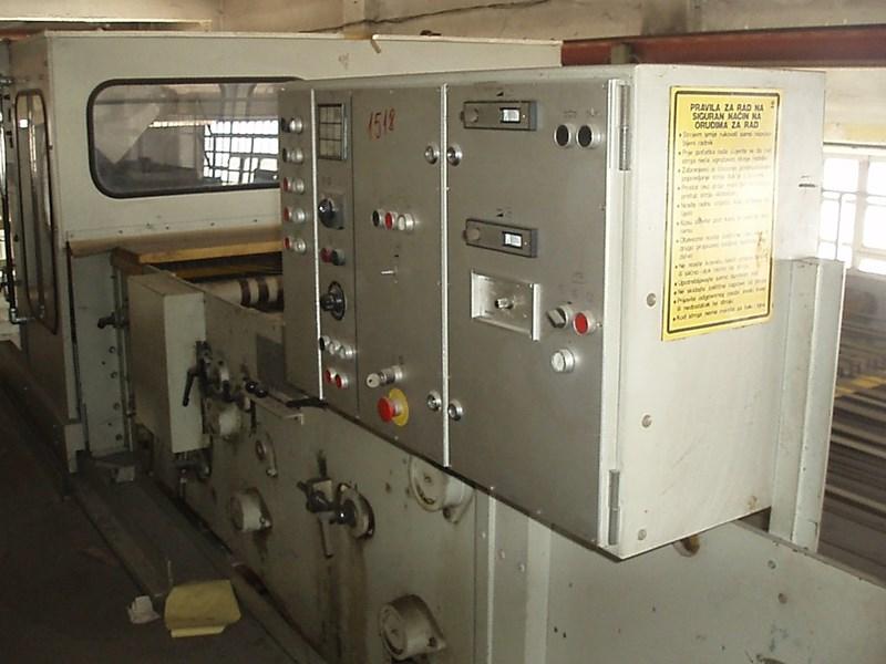Jagenberg CONVO AS 316 sheeter Longitudinal / transverse