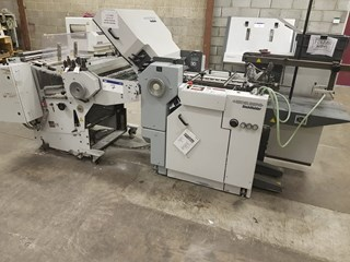 Heidelberg Finishing Stahlfolder Ti 40/4