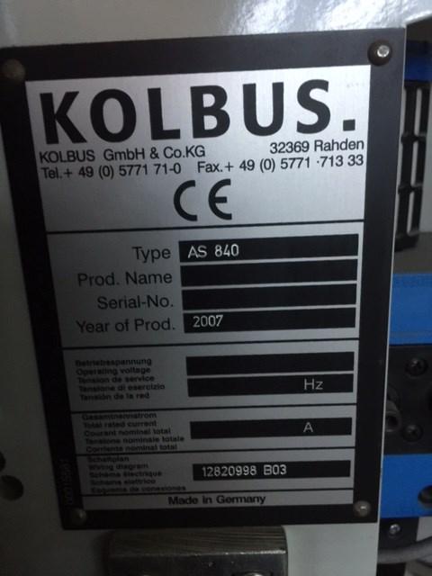 Kolbus ZU 840
