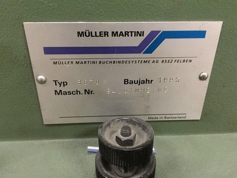 Müller Martini Normbinder 3007   NB 4 SF