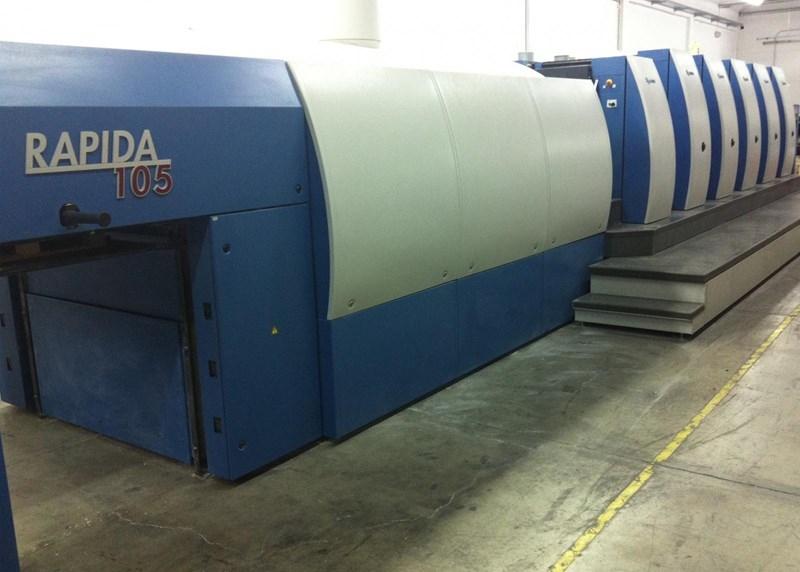 2007 KBA Rapida 105-5+L (P 40)