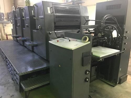 Heidelberg PM74-4 (Straight Machine)