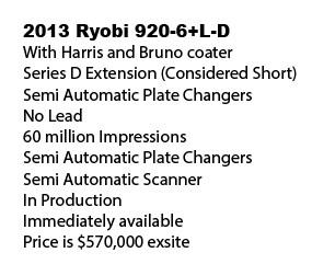 Ryobi (RGMT) Series 920-6+L-D