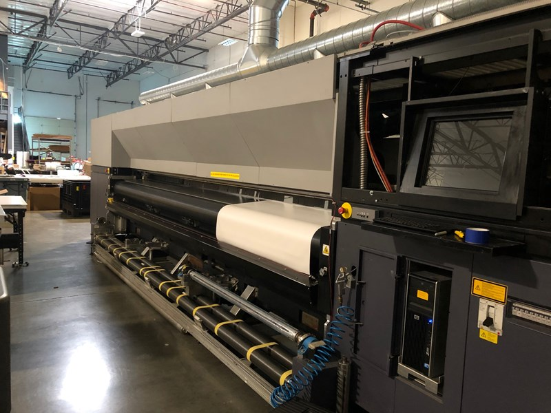 Durst RHO 500R Superwide 5m UV roll-to-roll printer