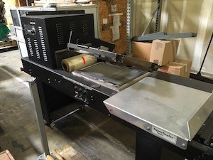 Traco Super Sealer Shrink Wrapper with Heat Tunnel