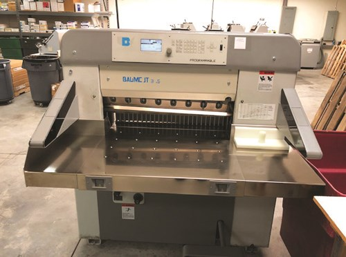 Baum/Polar cutter model, Baumcut 31.5