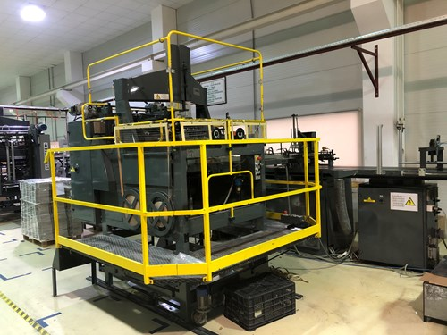 2000 EMMECI MC2 Rigid Box Machine