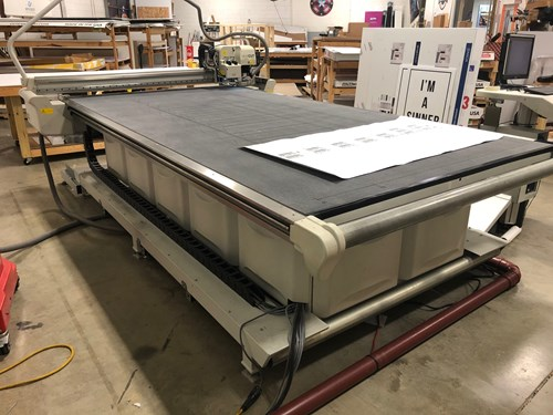 Esko Kongsberg i-XL24 CNC Table