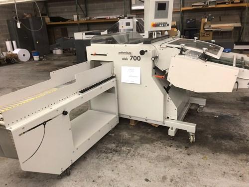 Palamides Presser/stacker Model Alpha 700