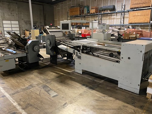 Stahl folder TH 82 6-6-4 (Level 3 Automation)