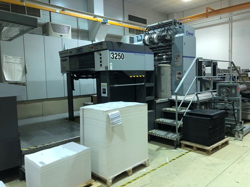 Steurer FBR 104 Hot Foil Machine