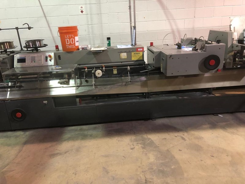 Heidelberg ST 270, 8 pocket with Rima stacker. 11,500 max. cycles per hour.