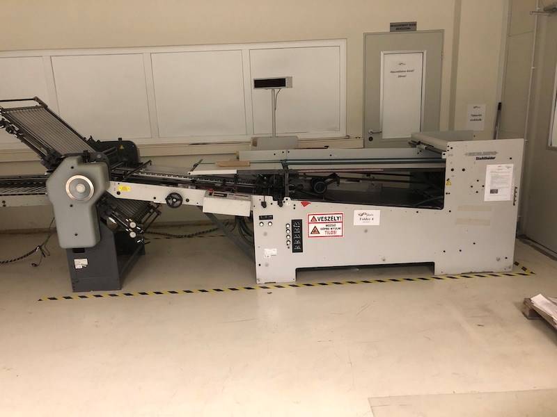 Stahl B-30 4/4/4 with Continuous feeder