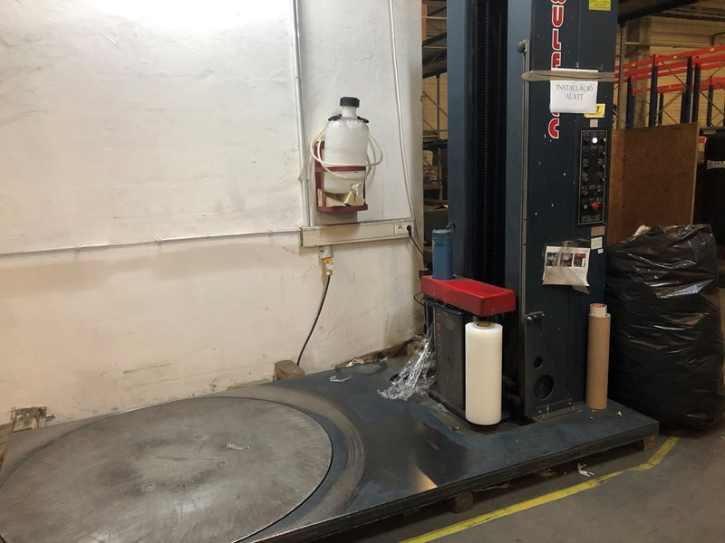 Wulftec WLP-200 Pallet Stretch Wrapper