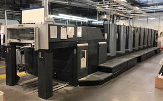 Heidelberg SM 102-8-P5 offset printing press