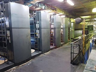 2006 Goss Sunday® 3000 (8) Unit (2) Web Press