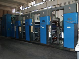 Harris M1000B (4) Unit Press
