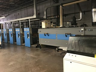 Harris M110 (5) Unit (1) Web Press