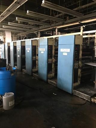 Harris M110B - 6 Unit Press; 2 Web press