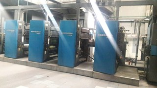 Heidelberg-Harris M130 (4) Unit (1) Web Press