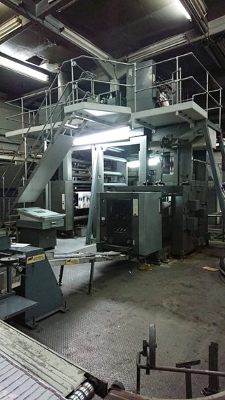 Heidelberg M600 A-24 Web Press 4 units Cut off 22 3/4