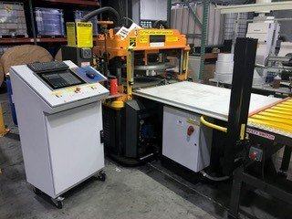 FL Smithe PHP Programmable Hydraulic Envelope Die Cutting Press Rebuilt & Upgraded