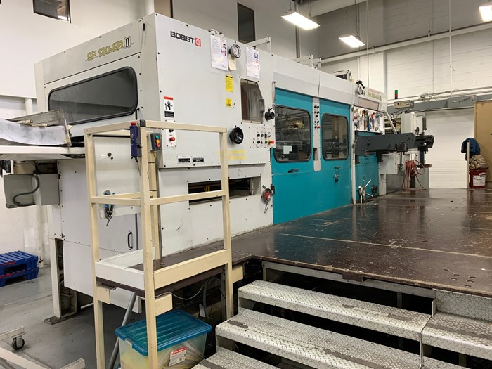 Bobst SP 130-ER II (Stripping & Blanking)