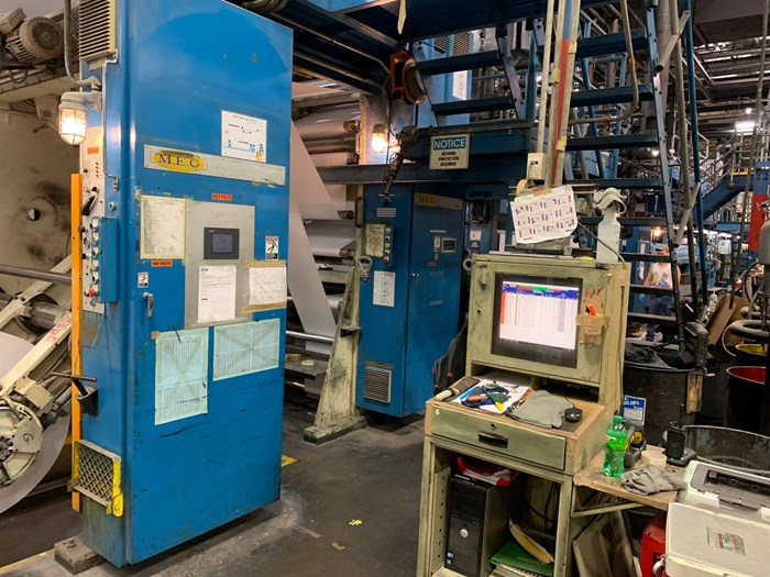 Hantscho Mark 10A (4) Unit (3) Web Press