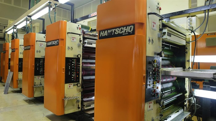 1989 Hantscho Mark 16 (5) Unit (2) Web Press