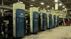 (5) Harris Heidelberg M1000BE Print Units