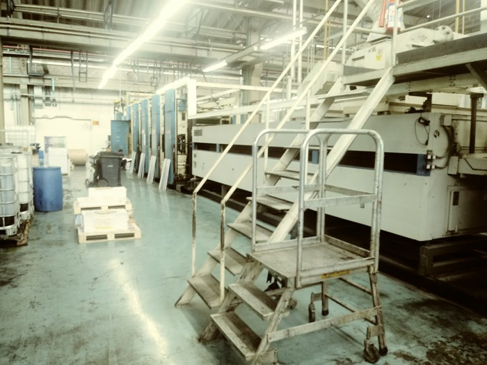 Harris M1000A 5 Unit Web Press