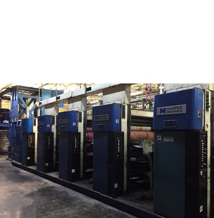 Harris M1000B (5) Unit (1) Web Press