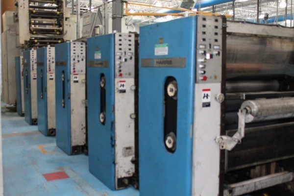 Harris M120 (5) Unit (2) Web Press