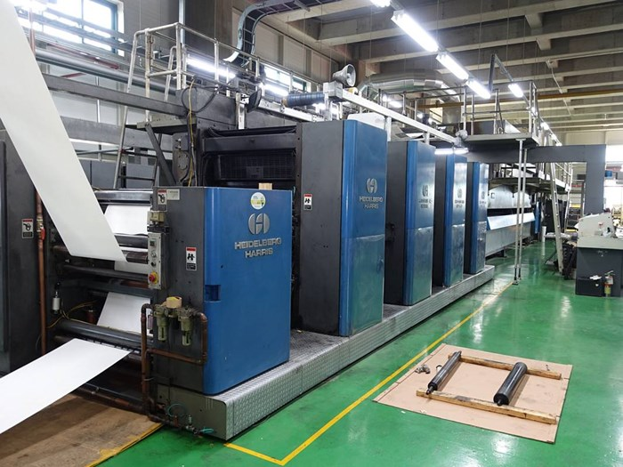 Harris M120C (2) Web Press