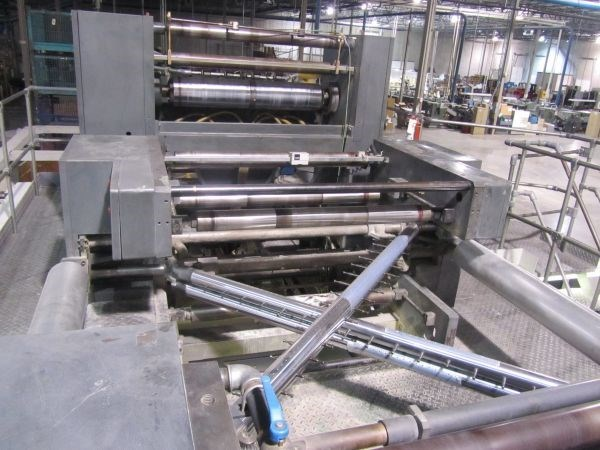Heidelberg Harris JF50 Folder Super Structure and Ribbon Deck / Shifter