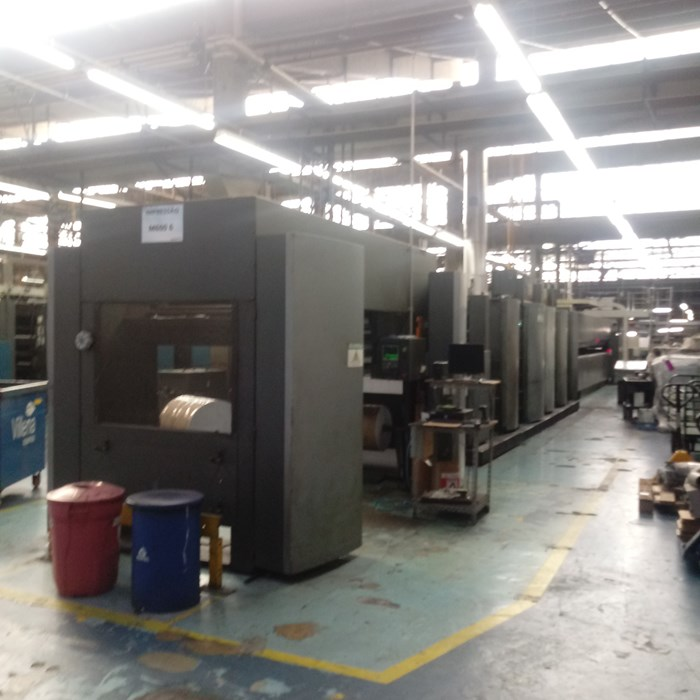 Heidelberg M600 Duplex 8 Unit  Press