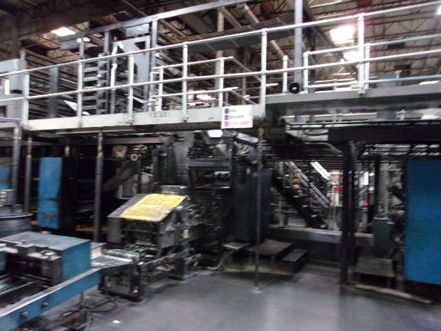 Heidelberg V30 (16) Unit Web Press