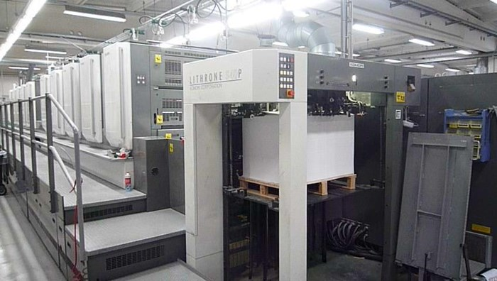 Komori Lithrone S 1040 P + CX