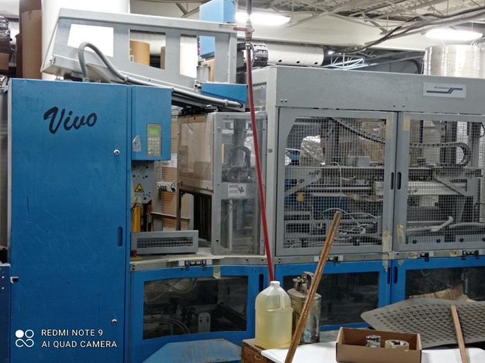 2005 Muller Martini Vivo Log Stacker/Palletizer