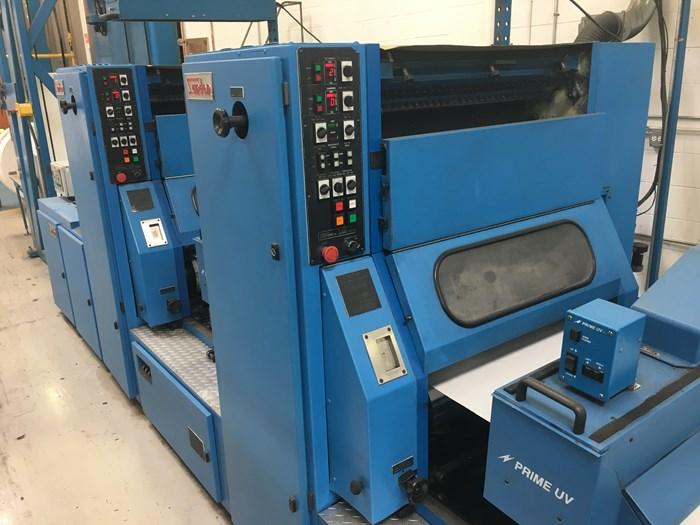1997 Sanden Model 927 (2) Unit Press
